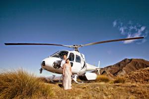 Helikopter leie til bryllup