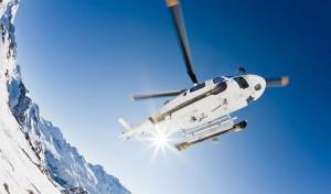 Helikopter leie og turer til fjellheimen Heliskiing