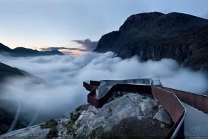 Helikoptertur og sightseeing Trollveggen og Trollstigen