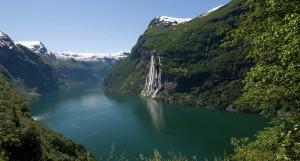 Helikopter tur og Sightseeing Geirangerfjord