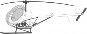 Helikoptre i Norge MD269 Schweizer