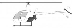 Helikoptre i Norge Robinson R22