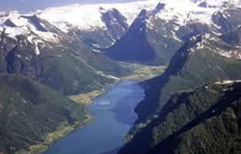 Helicopter Sightseeing Tours Fjords Glaciers Waterfalls Norway