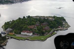 Helikopter tur over Oslo Gavekort Oscarsborg