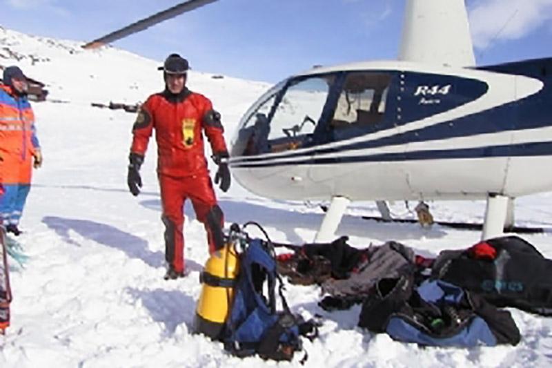 Helikopter turer i event arrangement med mange muligheter