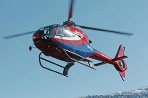 Helikoptre i Norge EC120B Turbin