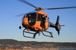 Helikopter EC120 Colibri er meget godt egnet til Flyfoto oppdrag