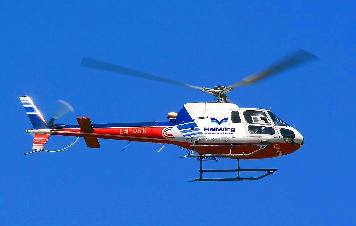 Helicopter Taxi Charter And Transport In Norway