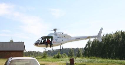 Tandem fallskjermhopp fra Helikopter