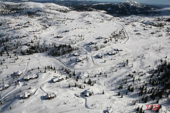 Flyfoto fra helikopter Hogevarde