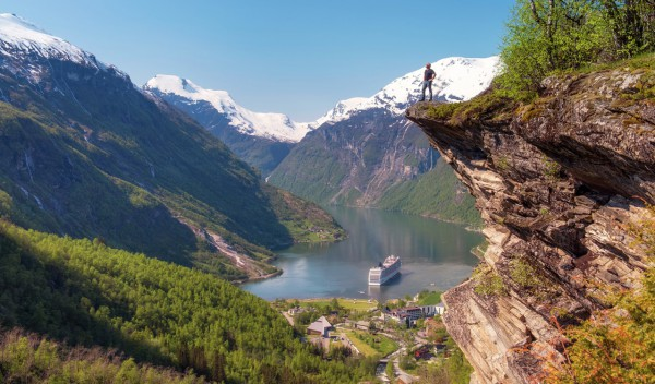 Helicopter Geiranger Norway