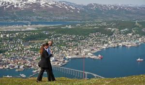 Helikopterturer fra Tromsø - Byen og Lyngen