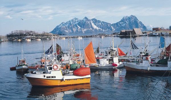 Helicopter tours and Sightseeing Norway Lofoten