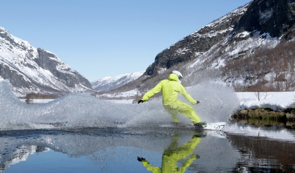 Helicopter tours charter to Hemsedal Norway