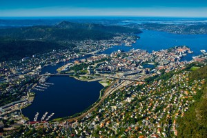 Helikoptertur over Bergen - Sightseeing Heliwing
