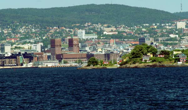 Oslo Helicopter Sightseeing City Port