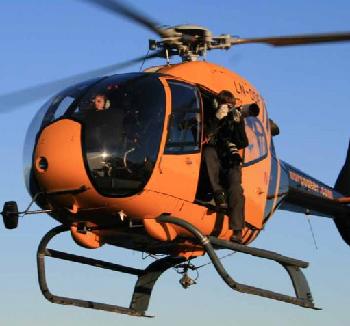 Flyfoto og Film fra Helikopter