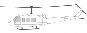 Helikoptre i Norge Bell 214