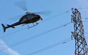 Linjeinspeksjon_Helikopter