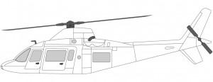Agusta 109 Helikopter to motorer VIP transport