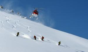 Heliskiing - Fly opp med helikopterkopter