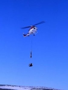 Helicopter Cargo Transport Sling with Longline