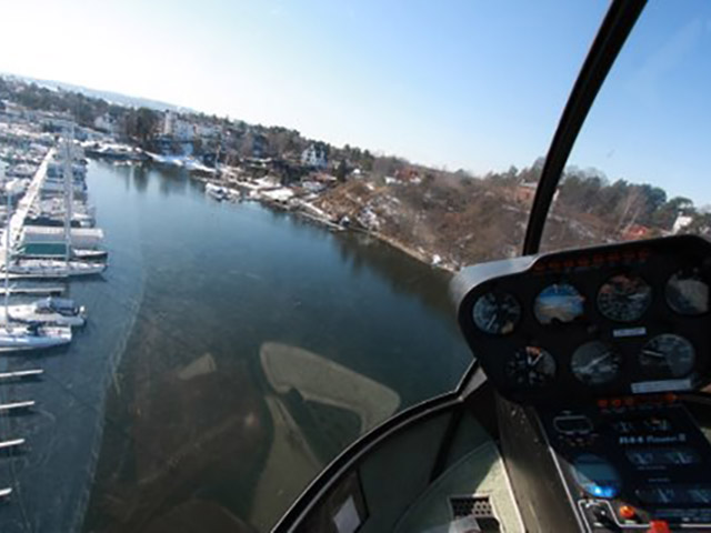 Helicopter rental charter and hire in Norway