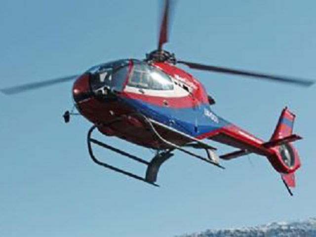 Helicopter rental of EC120 Colibri in Norway