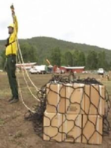 Helikopter transport utstyr for Lasteflyging Lastenett