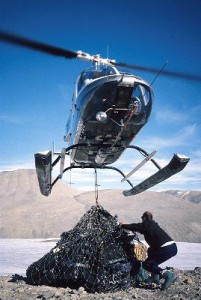Helicopter Transport Cargo Sling Flying Cargonet