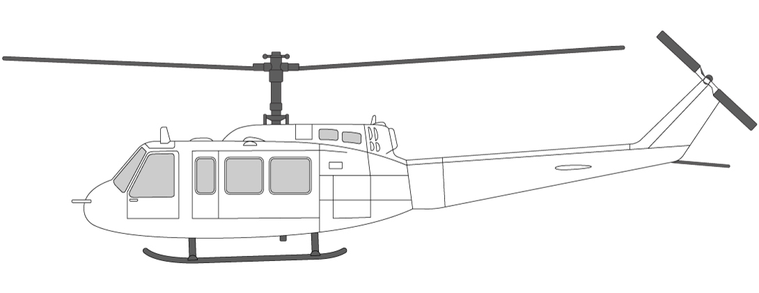Helikopter i Norge Bell 214