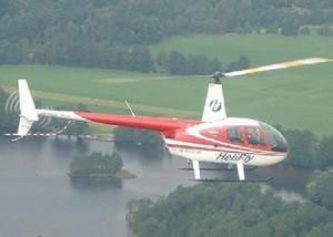 Robinson 44 er et perfekt helikopter for lokal turer