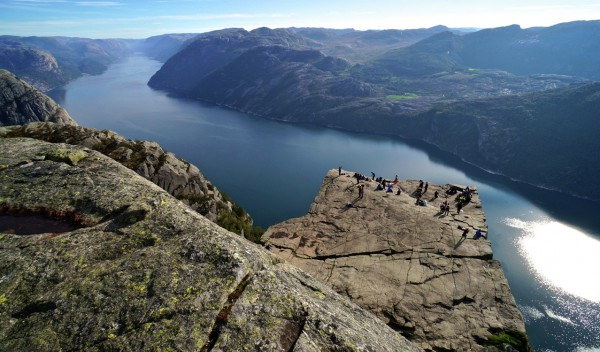 "Helicopter to Prekestolen ""PulPit Rock"""
