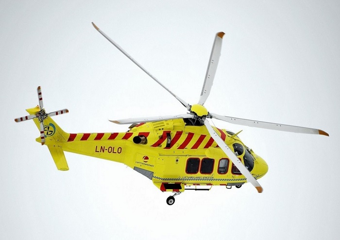 Helicopter Ambulance AW139 ring 113