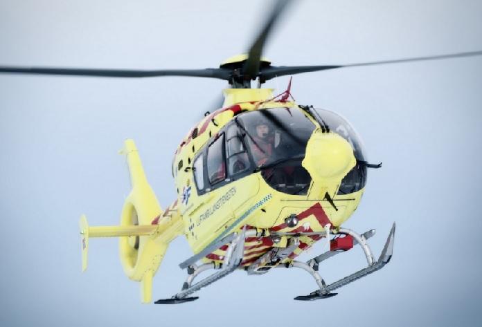 Helicopter Luftambulanse EC135 Ring 113