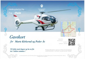 Gift Certificates on Helicopter tours