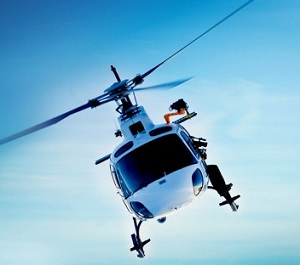 Helicopter service in Norway